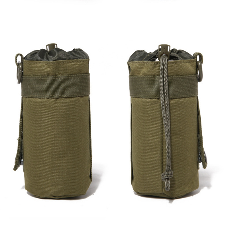 550ML Water Bottle Pouch Tactical Molle Kettle Pouch Pocket Water Bottle Holder Army Gear Bag 6 Colors