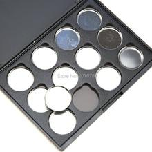 12 PCS 26mm Empty Magnetic Eyeshadow  Makeup Tools