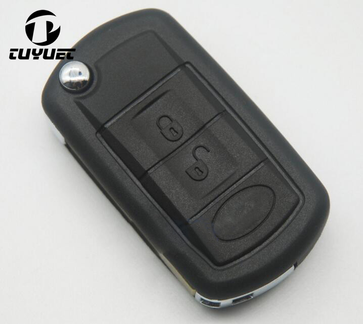 3 Buttons Replacement Car Key Case For Land Rover Range Rover LR3 discovery Sport Folding Flip Remote Key Shell