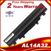 Hsw 6 células al14a32 bateria para acer aspire E1-571 E1-571G E5-421 E5-471 E5-511 E5-571 E5-571P E5-551 E5-521 V3-472 V3-572