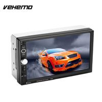 Vehemo Audio Player Video Player Hd Lcd 2Din Touch Screen Car MP5 7 Inches 7025D Premium