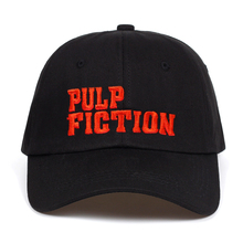 2018 new Pulp Fiction embroidery Snapback Cap Cotton Baseball