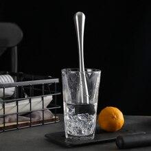 2 шт. из нержавеющей стали напиток коктейль Muddlers измельченный лед травы фруктовый мудлинг бар смеситель длинные Muddlers прибор для домашнего бара барная посуда