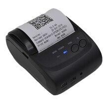 Impresora térmica 58mm Impresora de Recibos POS Interfaz USB Restaurante POS Bill Impresora 5802 MW para Restaurante y Supermercado