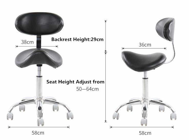 Wondrous Hydraulic Rolling Medical Massage Stool Chair With Backrest Salon Stool Spa Equipment 360 Degrees Swivel Hair Barber Chairs Gmtry Best Dining Table And Chair Ideas Images Gmtryco
