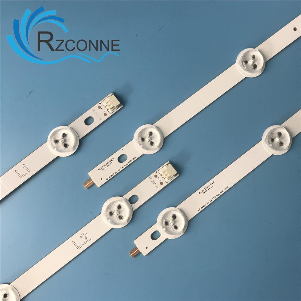 830mm LED Backlight Strip 10leds For LG Konka 42