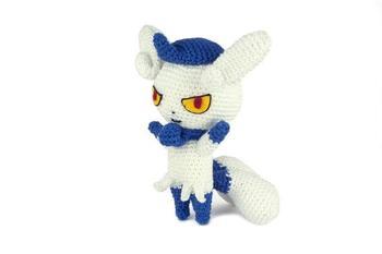 crochet toys  amigurumi rattle  cartoon character  model  number  w75
