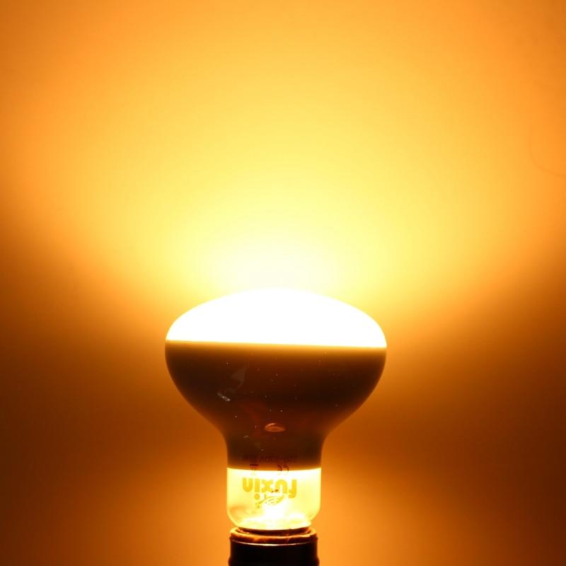 R80 Infrared Pet Heating Lamp E27 25W/40W/50W/60W/75W/100W Warm White Heat Lights Bulb 220V-240V For Reptile Amphibians Birds