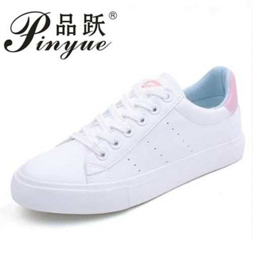 Women White Shoes 2018 Spring New Female Casual Shoes Fashion Sneakers Zapatillas Deportivas Mujer Blue Pink Red 35-40 2017brand sport mesh men running shoes athletic sneakers air breath increased within zapatillas deportivas trainers couple shoes