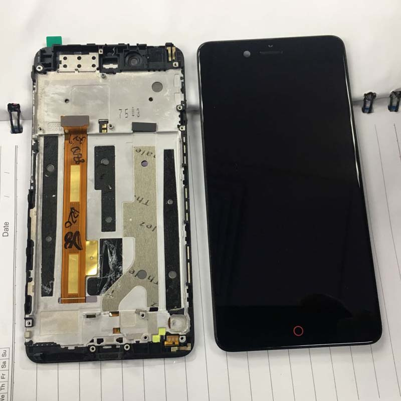 Original For ZTE Nubia Z17 mini NX569J NX569H LCD screen display touch panel digitizer with frame