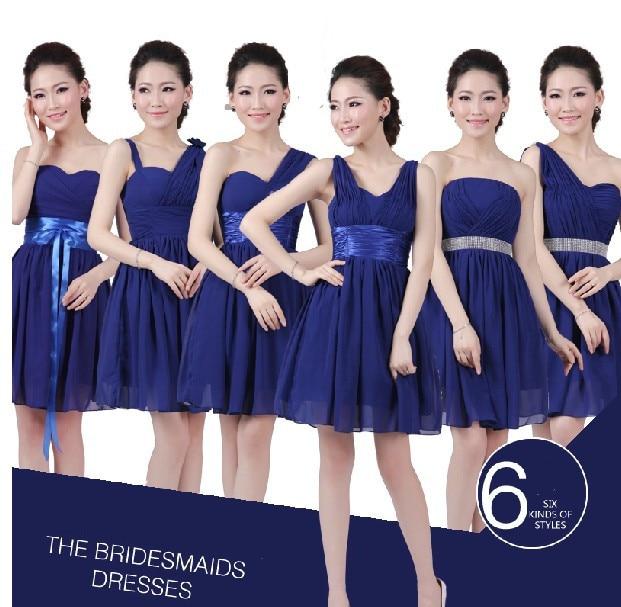 Popular Royal Blue Bridesmaid Dress-Buy Cheap Royal Blue ...