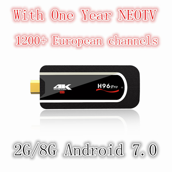 H96 PRO Amlogic S912 64bit Octa-core Mini PC(H.265 4K) 2.4G Wifi Android 7.1 Tv Box 2G 8G Smart Box HDMI Tv Stick Full HD 1080P цена
