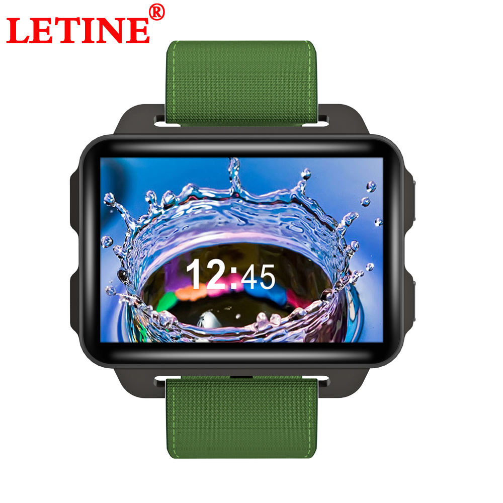 GPS Smart Watch 2 2inch Screen 2G 3G WiFi Network 1GB 16GB ROM Heart Rate Monitor