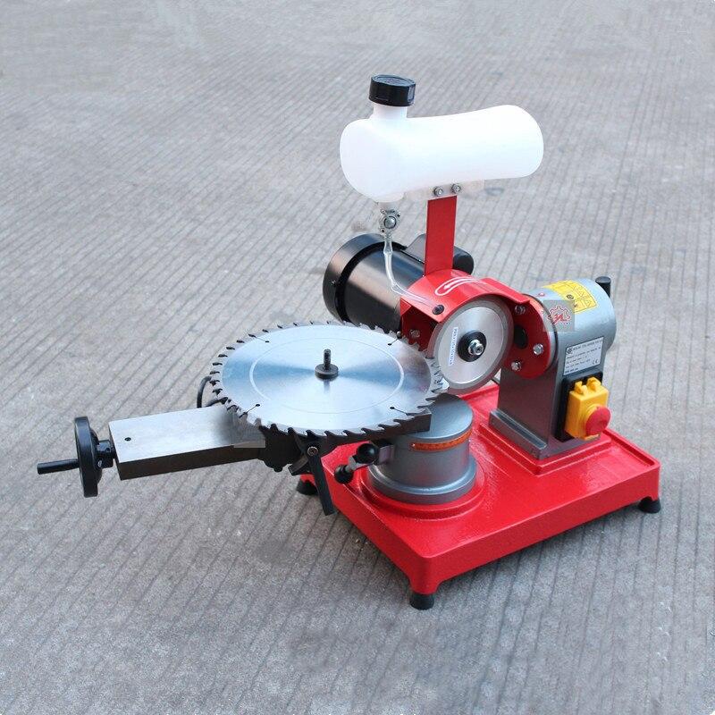 Сплав пилы станок Ножи Гриндер мини Шестерни шлифовальный станок мини деревообрабатывающего оборудования