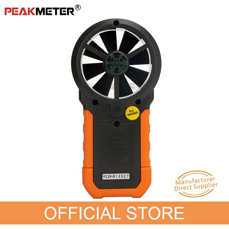 Anemometro digitale Misuratore di umidità della temperatura - Strumenti di misura - Fotografia 3