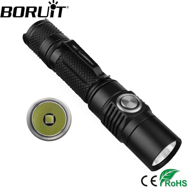 BORUiT BC03 1380LM XP-L2 LED Tactical Flashlights