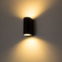 10W led wall light for bedroom aluminum porch lights waterproof mounted lamp sconces with GU10 spotlight IP65