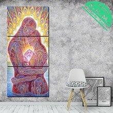 купить!  3 Шт. Пара Человеческого Меридиана Картинки HD Печатные Холст Картины с Картинками Украшения для