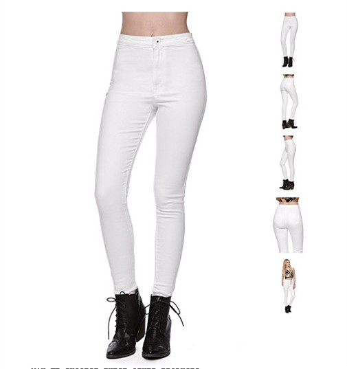 Aliexpress.com : Buy 2015 white color women uber high waist skinny ...