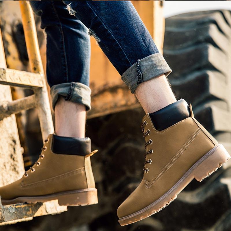 Martin Botas de nieve de invierno Botas de tobillo para las mujeres de madera tierra zapatos Bottes Mujer Zapatos de plataforma zapatos de felpa caliente plantilla Botas Mujer