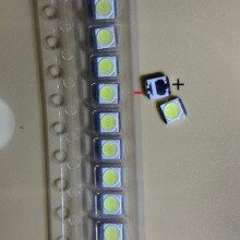1000 шт. светодиодный светильник для LG с ЖК-дисплеем и подсветкой, лампа с бисером, объектив 1 Вт, 3 в, 3528 2835, холодный белый светильник с бусинами