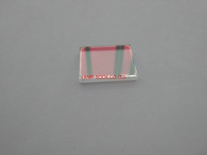 Image 1 - DLP projector lamp housing window, glass, UV/IR lens 25x20x3mm for Acer h6510bd projector