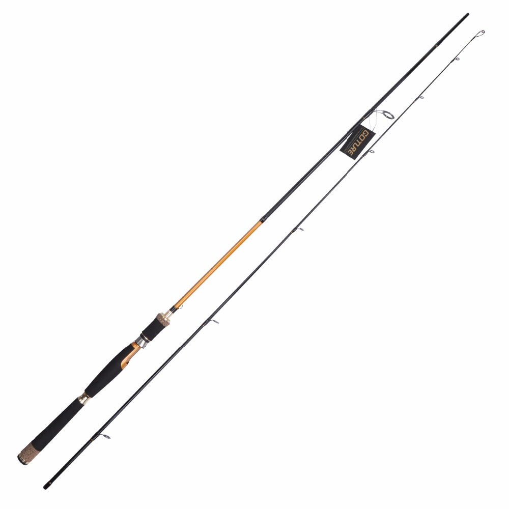 Goture fishing spinning rod 2 1m 2 4m fishing tackle sea for Bulk wholesale fishing tackle