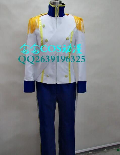 2016 The Little Mermaid Prince Eric Cosplay Costume