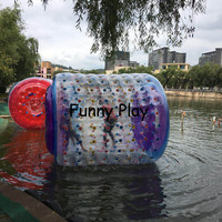 Водяная Прогулка водный мяч коньки роликовые воздушные плотные ПВХ круглый воздушный шар надувные водные спортивные игры дешевые забавные