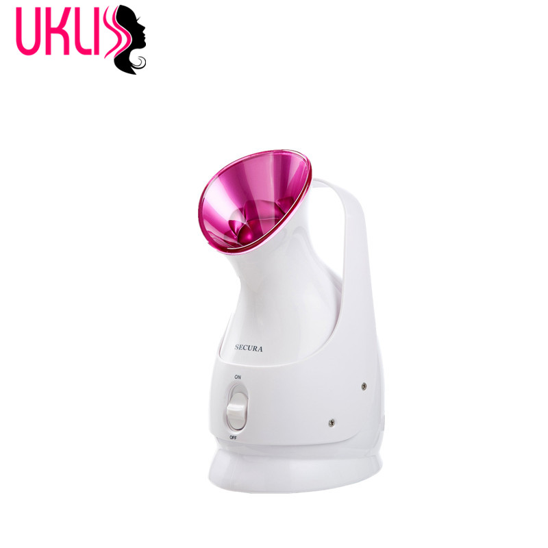 Nano Ionic Facial Steamer Hot Mist Moisturizing Cleaning Pores clear blackheads Acne Interior Humidifier Home Sauna SPA System nano ionic facial mist sprayer hot mist moisturizing cleaning whitening skin humidifier thermal spa face steamer face spa 220v