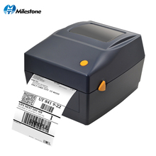 Milestone  Qr Code Sticker Printer Barcode Printer Thermal adhesive Label Printer Clothing Label Printer for Business wholesale high quality label sticker receipt printer barcode qr code pos printer support 80mm width print speed very fast