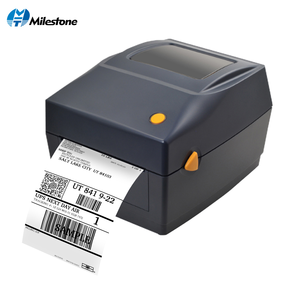 Milestone Qr Code Sticker Printer Barcode Printer Thermal adhesive Label Printer Clothing Label Printer for Business