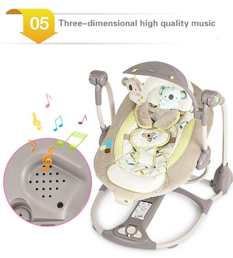 HTB1V7rLaND1gK0jSZFsq6zldVXa6 EU safety baby rocking chair 0-3 baby Electric cradle rocking chair soothing the baby's artifact sleeps newborn sleeping