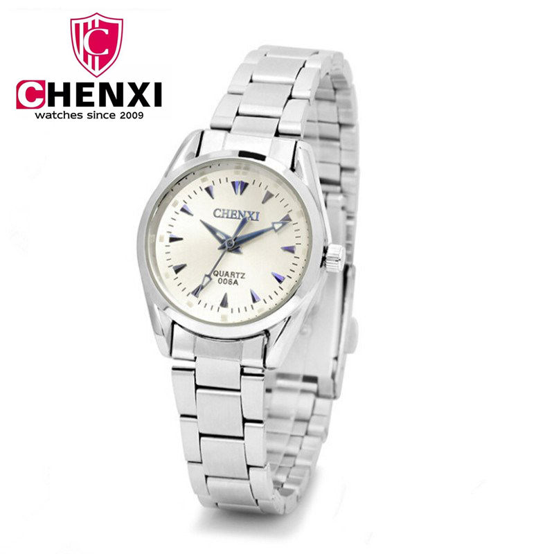 NATATE Women CHENXI Brand Business Clock Fashion Watch full Stainless Steel Quartz watches Wristwatch Lady Casual Watches 1140 поварской нож tefal talent 20 см k0910204