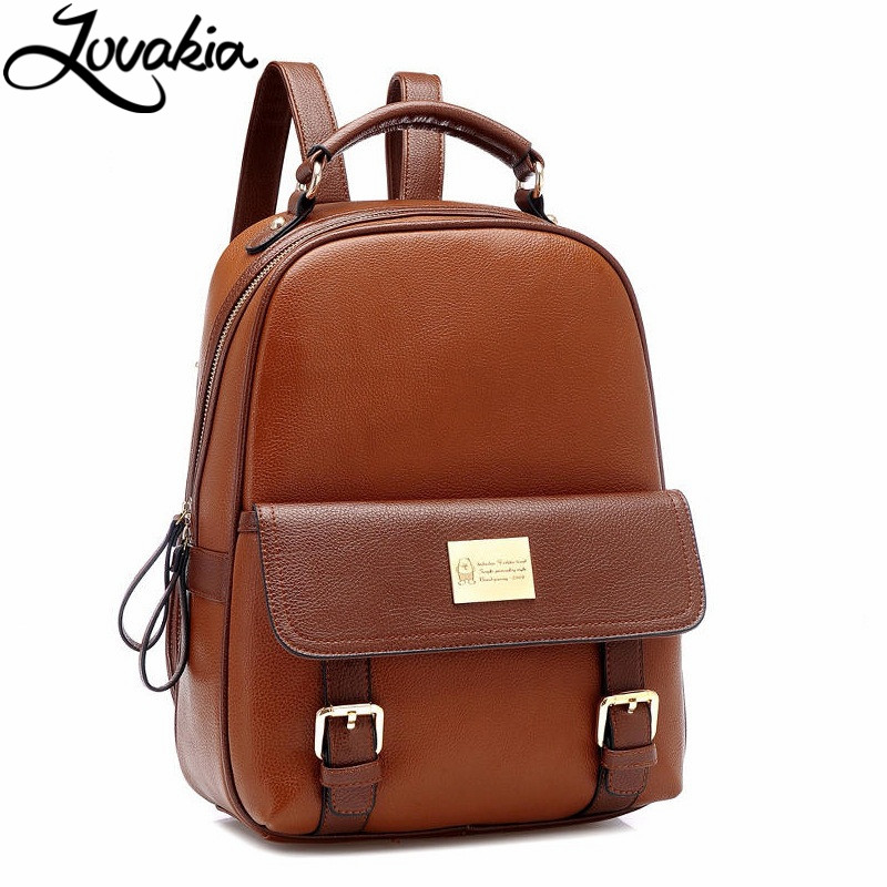 New Arrive Leather Mochilas Mujer Bag 2017 Large Capacity Women Travel Backpacks Female Schoolbag For Teenage Girls