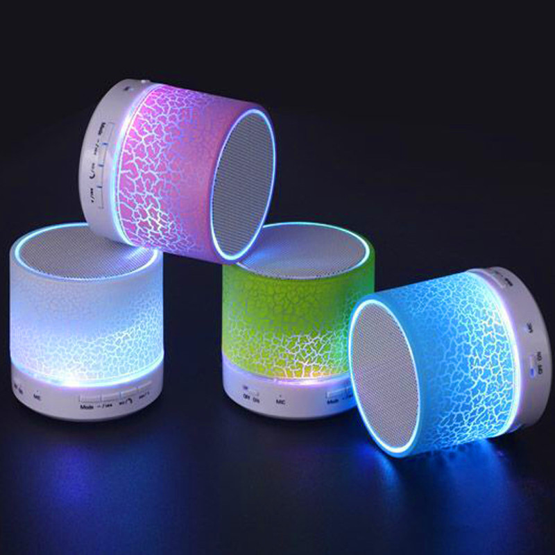 2016 Led Bluetooth Speaker Mini Speakers Portable Caixa De Som Portatil Altavoz Enceinte Altavoces