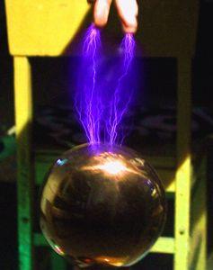 Image 1 - Funken lücke tesla draht falle stück diy technologie zu produzieren drahtlose übertragung licht arc arc spray arc