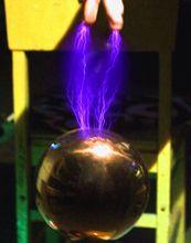 Spark Kloof Tesla Draad Val Stuk Diy Technologie Produceren Draadloze Transmissie Licht Arc Arc Spray Arc