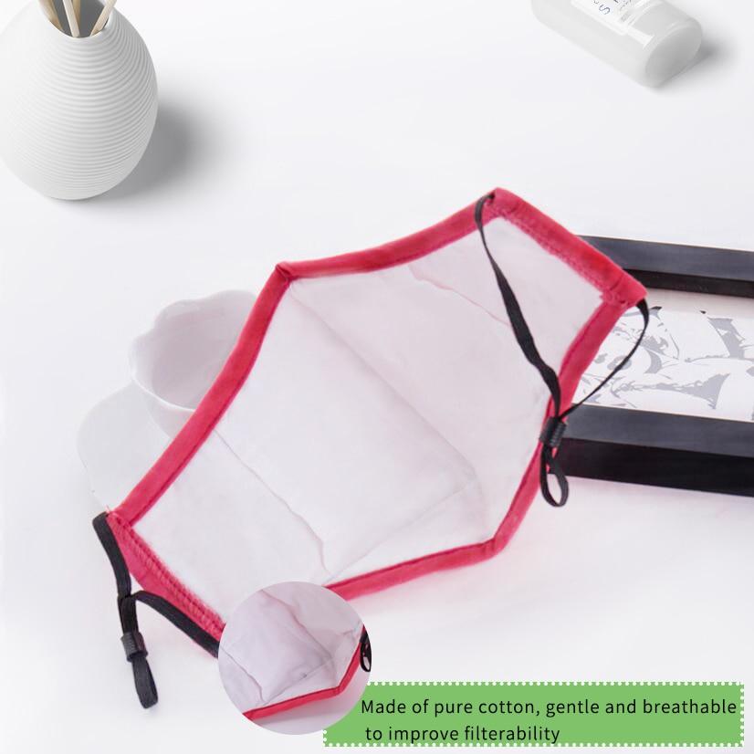 Moledodo 3 UNIDS / LOTE Nuevo Algodón adultos boca máscara PM2.5 - Cuidado de la salud - foto 3