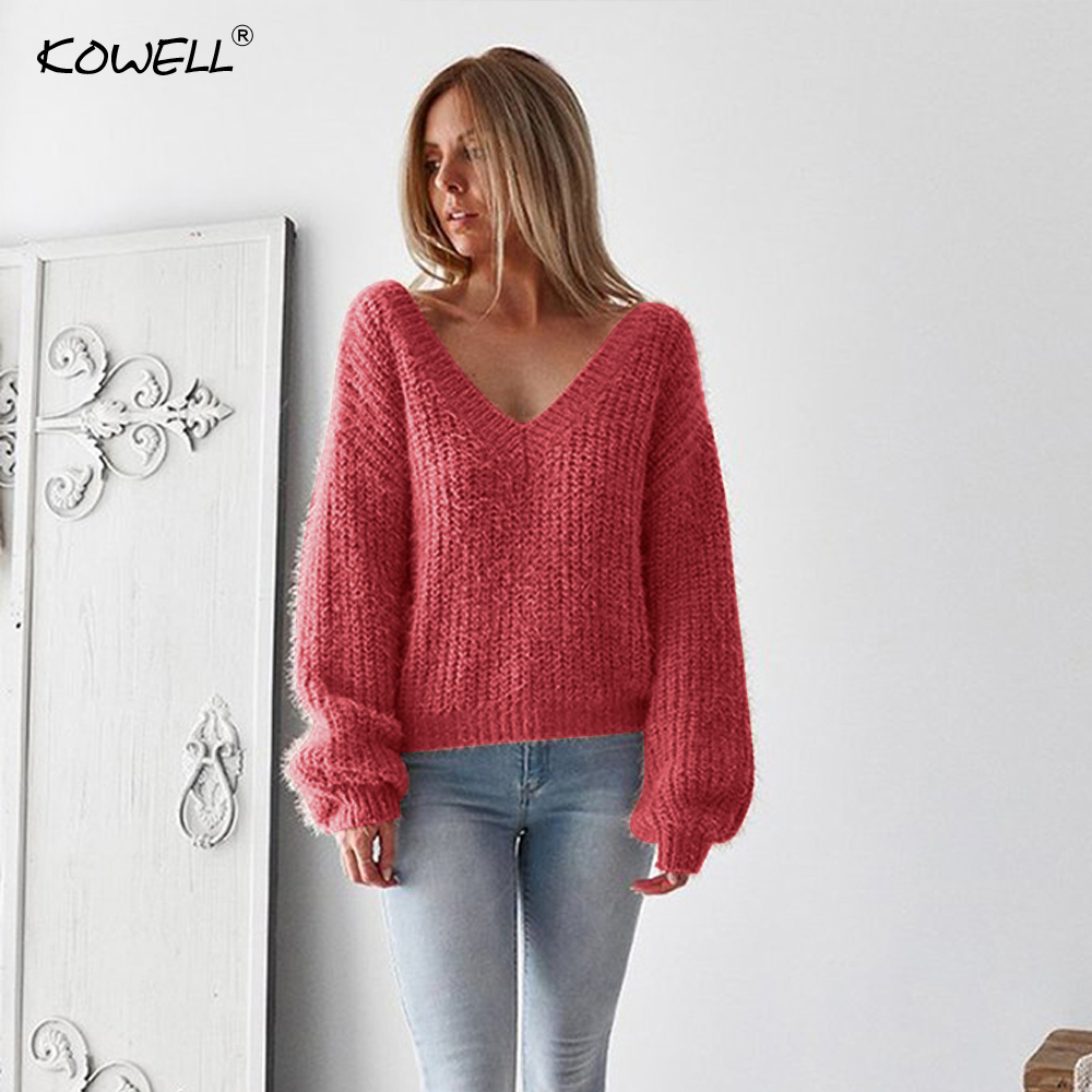 b346ca7ec38d53 Hot Sale Backless Knitted Loose Sweater Women Autumn Winter Long Sleeve  Cotton Women Tops Casual Women Pullovers and Sweaters