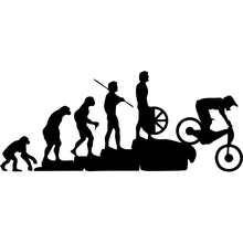 Interesting Mountain Bike Downhill Car Stickers Covering The Body Cartoon Vinyl Decals Motorcycle Exterior Accessories JDM