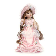 Стиль девушка Кукла Одежда для 18 дюймов куклы, мода 18 дюймов Кукла Одежда и аксессуары, красивое платье Игрушка Одежда