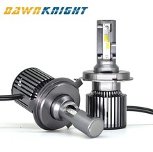 2PCS F4 H4 Led bulb 9004/HB1 9007/HB5 9008/H13 H7  D2S(R/C) CSP CHIP Turbo Fog light 7000LM 6000K Mini Size