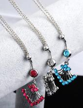 New Key Belly Button Ring Chain For Women