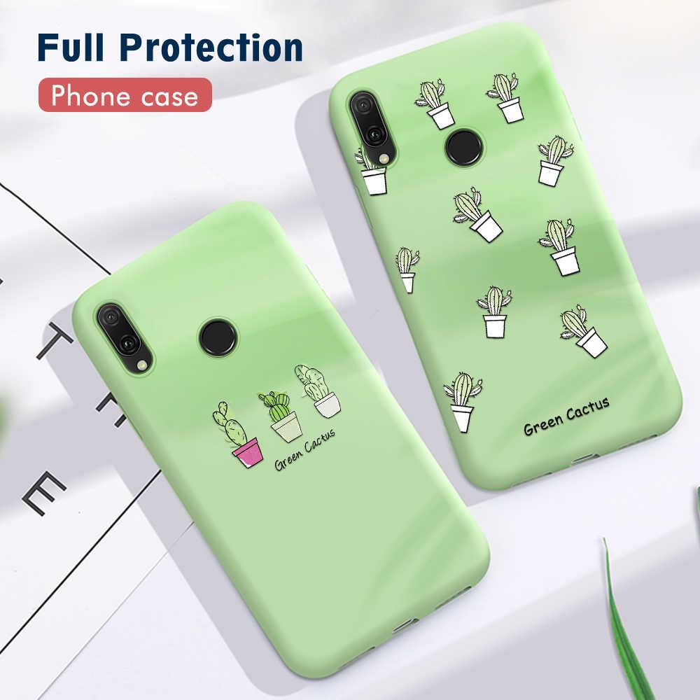 Słodkie serce miłość wzór TPU etui na Huawei P30 Pro Mate 20 10 P10 Lite P20 Pro czysty kolor pokrywa silikonowa na P20 lite 2019