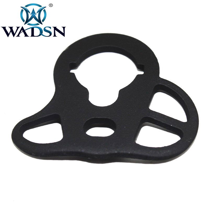 Image 4 - Wadsn Tactical Airsoft M4 Rear Sling Mount  Swivel AEG Military Army Accessories WOT0901-in Hunting Gun Accessories from Sports & Entertainment