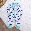 Crianças Meninos Bodysuit Macacão Outfits Newborn Infant Toddler Bebê Roupas