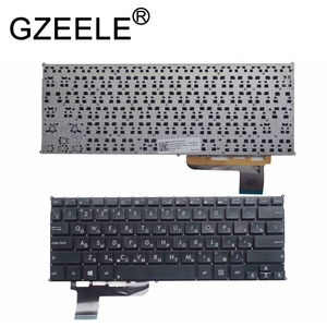 GZEELE New RU laptop keyboard for Asus VivoBook Q200 Q200E S200 S200E X200 X201 X201E x202e russian layout black or white(China)