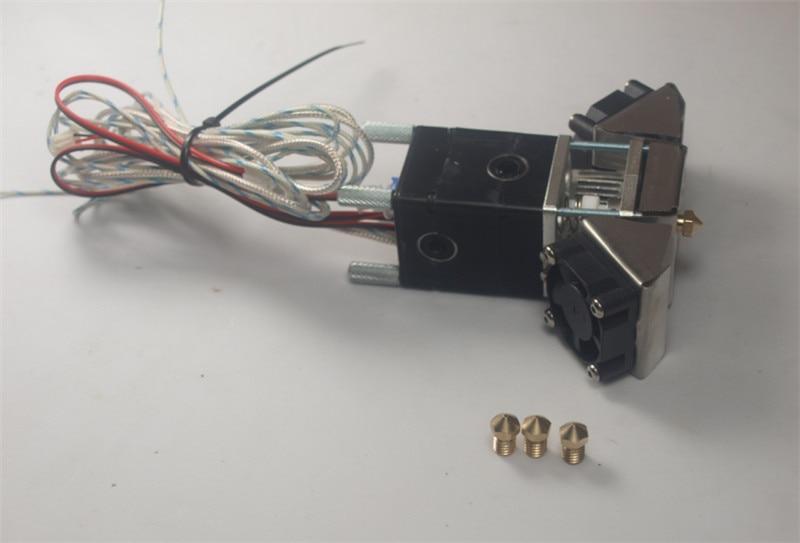 Ultimaker 2+/2 extended/2 Olsson block nozzle full hotend kit 1.75/3mm Match with olsson nozzle for DIY ultimkaker 3D printer