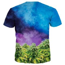 3D cat t-shirt kush